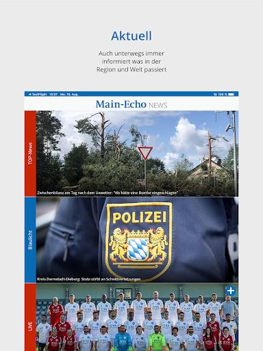 Main-Echo NEWS 8 تصوير الشاشة