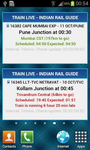 Indian Rail Guide screenshot 3