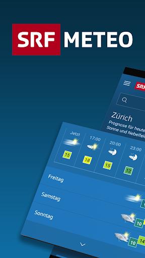 SRF Meteo - Wetter Prognose Schweiz screenshot 1