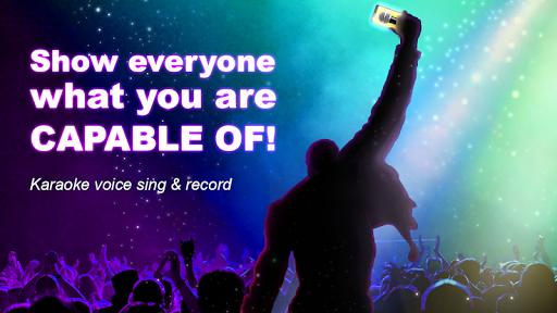 Karaoke voice sing & record screenshot 4