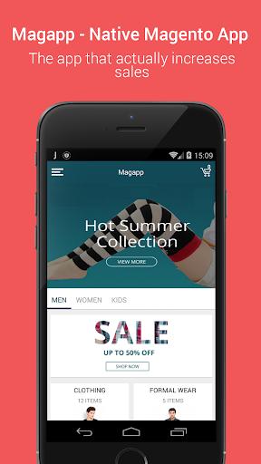 Niftyapp - Magento Mobile App screenshot 2