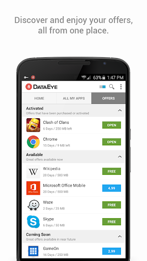 DataEye | Save Mobile Data screenshot 4