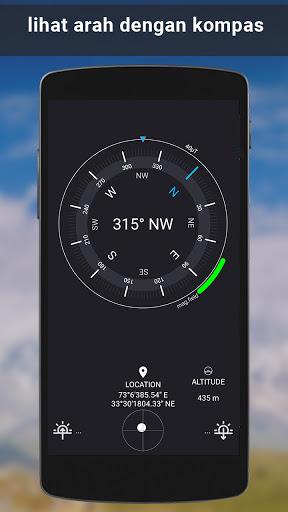 gps satelit - hidup bumi peta & suara navigasi screenshot 6