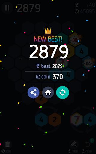 Make7! Hexa Puzzle 5 تصوير الشاشة