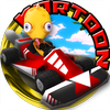 Kartoon Racing Driver simulator أيقونة