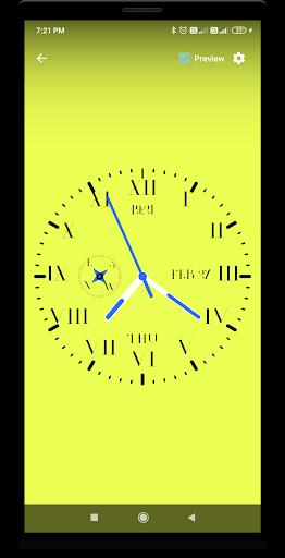 Clock Live Wallpaper screenshot 6