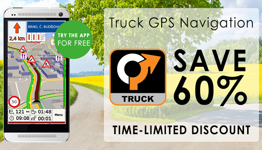 Truck GPS Navigation 8 تصوير الشاشة