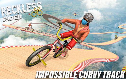 Reckless Rider- Extreme Stunts Race Free Game 2020 screenshot 11