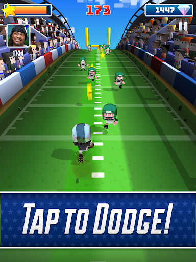 Marshawn Lynch Blocky Football screenshot 15