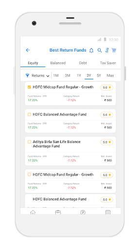 Karvy Nivesh - Mutual Fund, SIP, Investment App screenshot 3