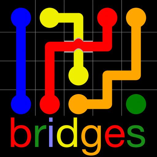 Flow Free: Bridges icon
