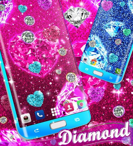 Diamond live wallpaper 5 تصوير الشاشة