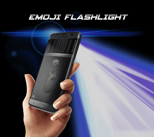 Emoji Flashlight - Brightest Flashlight 2018 screenshot 1