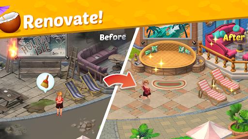 Alice's Resort - Word Puzzle Game screenshot 1