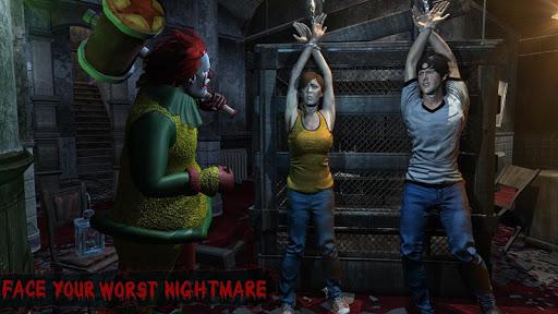 Horror Clown Survival - Scary Games 2020 screenshot 1