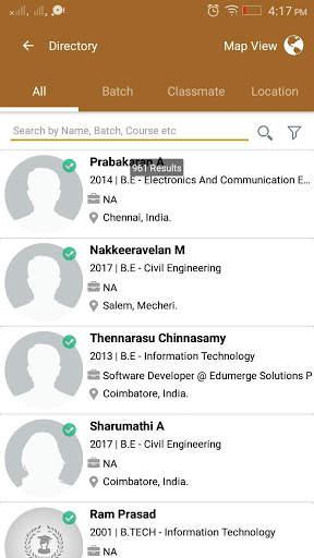 SRIT Alumni Association screenshot 4