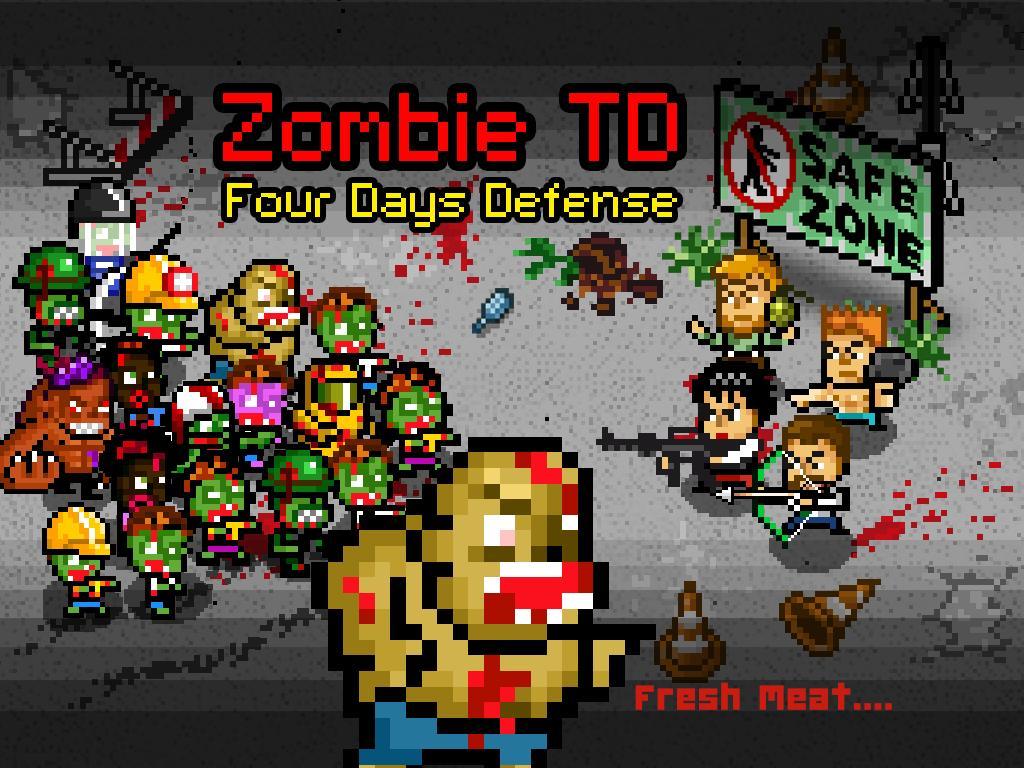 Zombie 4 Day Tower Defense TD 7 تصوير الشاشة
