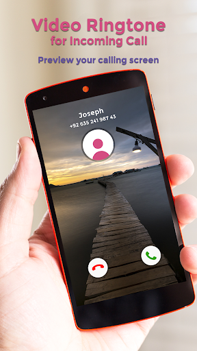 Video Ringtone for Incoming Call screenshot 5