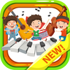 Music kids - Songs & Music Instruments आइकन