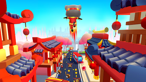 Talking Tom Hero Dash - Run Game screenshot 3