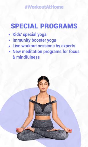 Simple Soulful - Shilpa Shetty: Yoga Exercise Diet screenshot 1