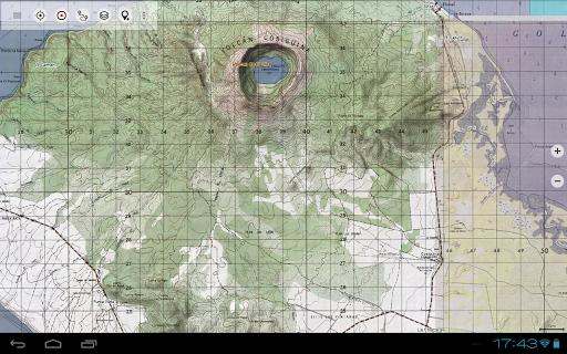 Central America Topo Maps 11 تصوير الشاشة