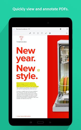 Adobe Acrobat Reader: PDF Viewer, Editor & Creator 10 تصوير الشاشة