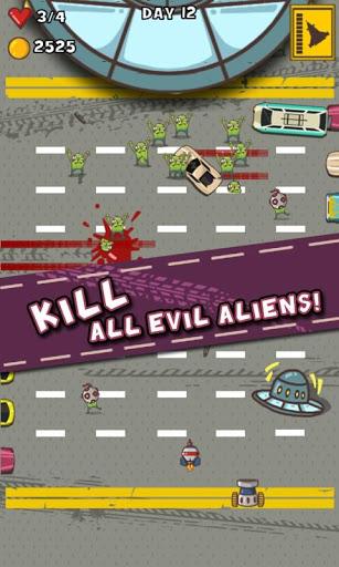 Car Smash Aliens 3 تصوير الشاشة