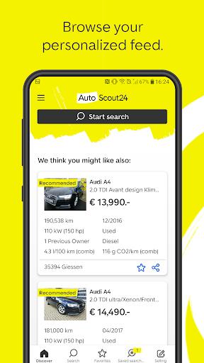 AutoScout24 - used car finder 2 تصوير الشاشة