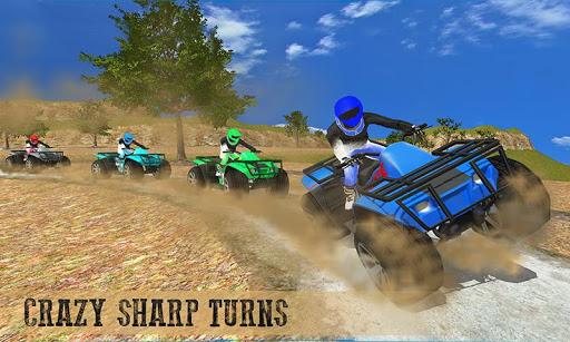 Offroad ATV quad bike racing sim: Bike racing game screenshot 1