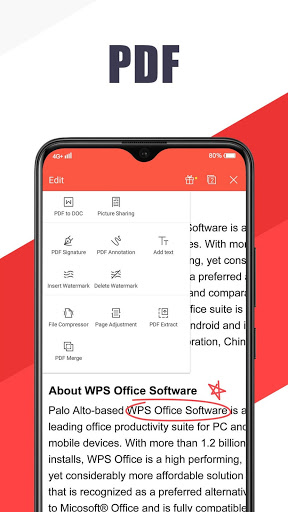 WPS Office - Free Office Suite for Word,PDF,Excel 6 تصوير الشاشة