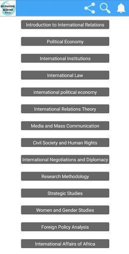 International Relations Books screenshot 2