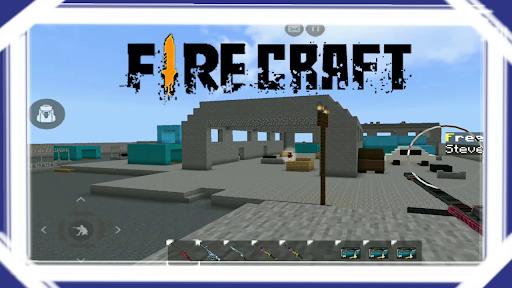 Mod Fire Craft for MCPE screenshot 1