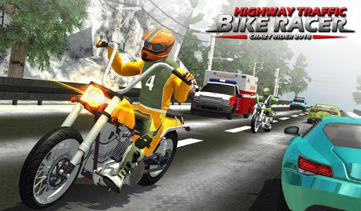 Highway Rider Bike Racing: Crazy Bike Traffic Race screenshot 10
