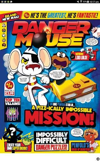 Danger Mouse Magazine screenshot 5