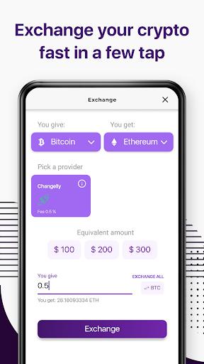 Trustee Wallet - best bitcoin and crypto wallet 5 تصوير الشاشة