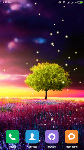 Awesome-Land Live wallpaper HD : Grow more trees screenshot 8