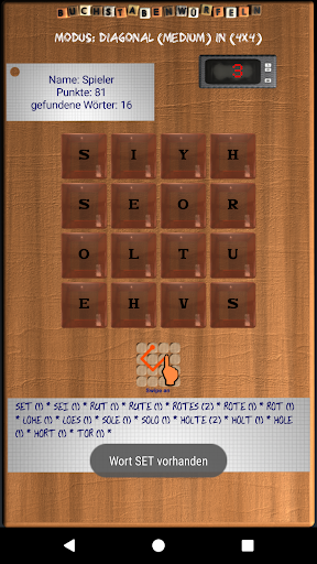 Buchstabenwürfeln Lite screenshot 2