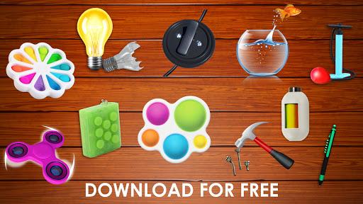 Fidget Toys 3D - Fidget Cube, AntiStress & Calm screenshot 8