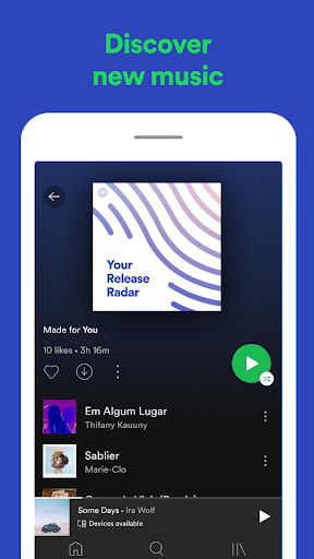 Spotify: Listen to new music and play podcasts screenshot 7