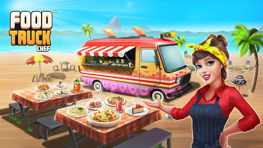 👩‍🍳Food Truck Chef™👨‍🍳 Permainan Memasak🍕🍩🍰 screenshot 1