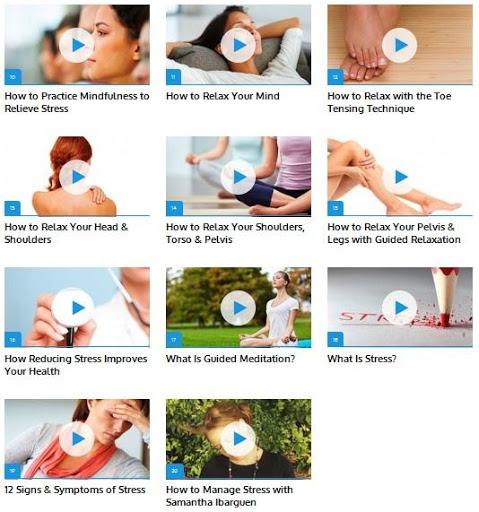 Stress Management Guide screenshot 2