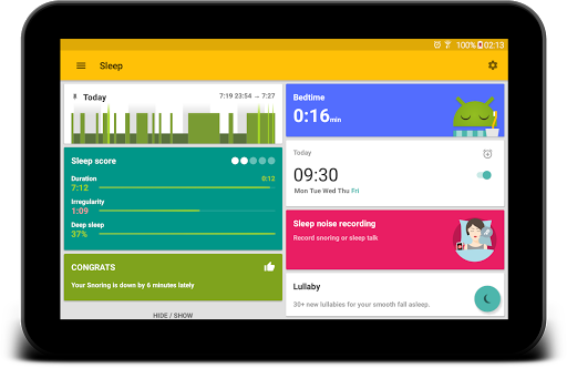 Sleep as Android 💤 Cicli del sonno, Sveglia screenshot 11