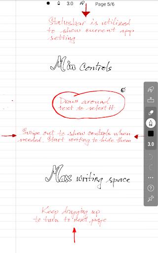 INKredible - Handwriting Note 6 تصوير الشاشة