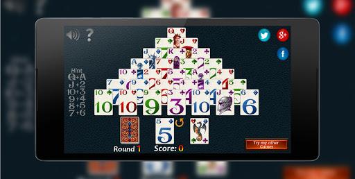 Pyramid Solitaire Fantasy 2 تصوير الشاشة