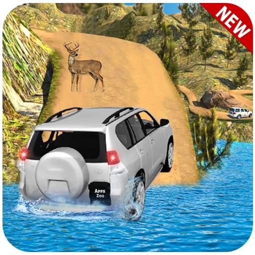 Off road Land Cruiser Jeep:Prado Driving 2021