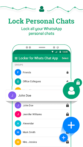 Locker for Whats Chat App - Secure Private Chat स्क्रीनशॉट 4