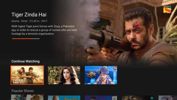 SonyLIV - TV Shows, Movies & Live Sports Online TV screenshot 1