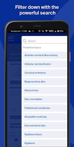 myAO - Transforming surgery together screenshot 6