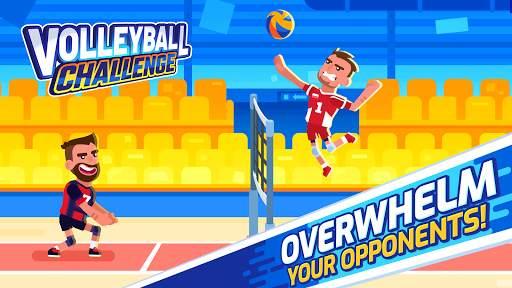 Volleyball Challenge - volleyball game screenshot 2